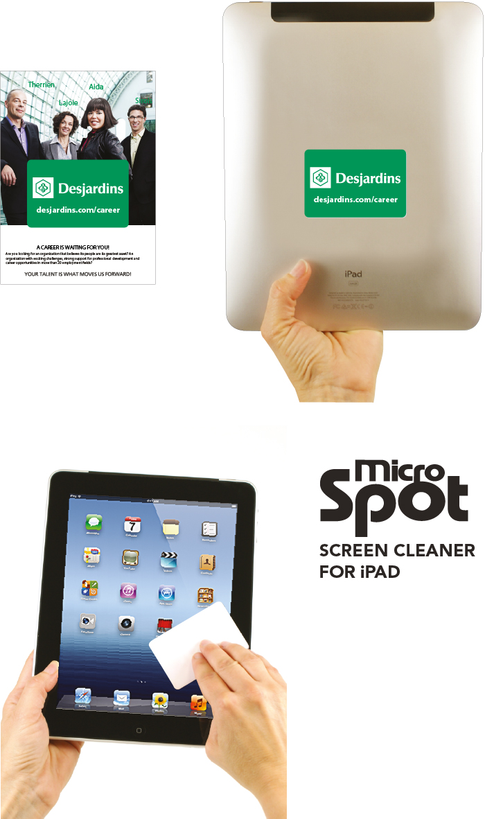 Products Promo Microspot For iPad
