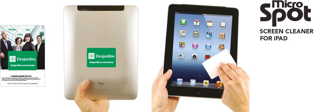 Microspot iPad Cleaner | Nettoyeur d'iPad
